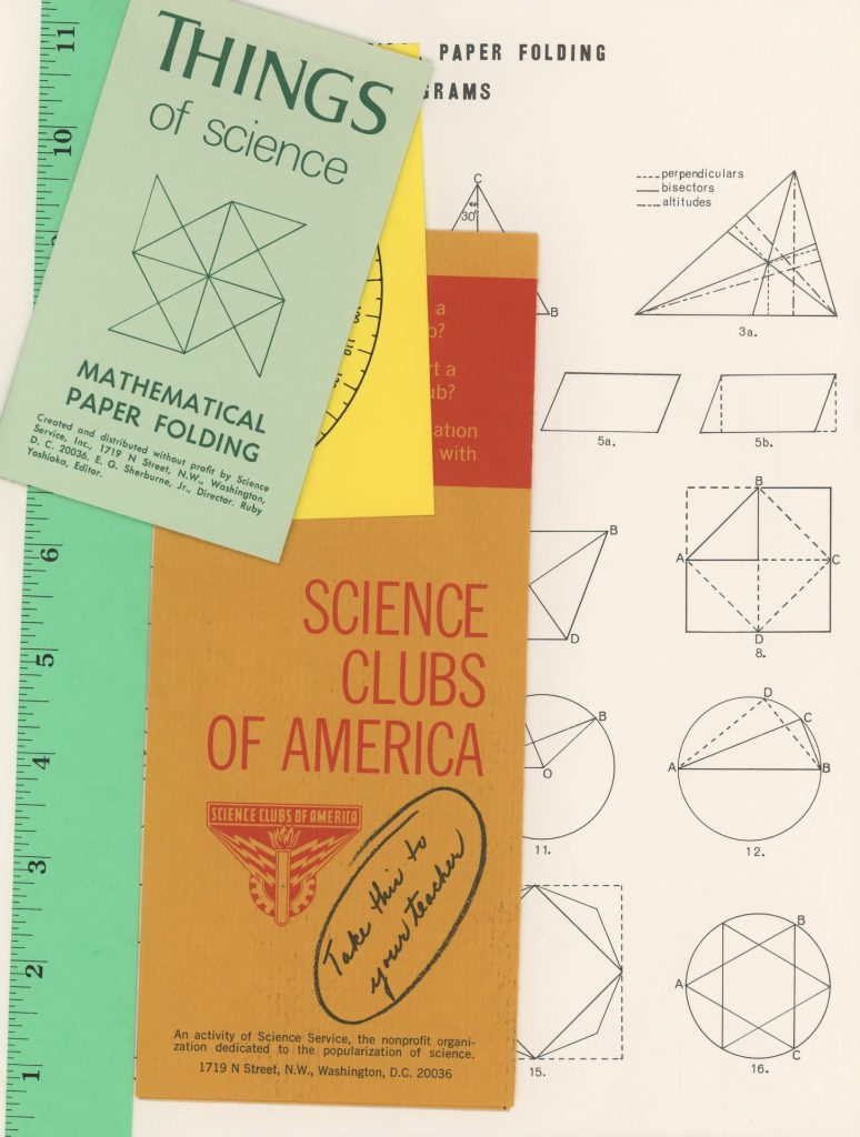 Things of Science (1970) Mathematical Pattern Folding