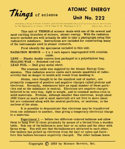 Things of Science 222.1